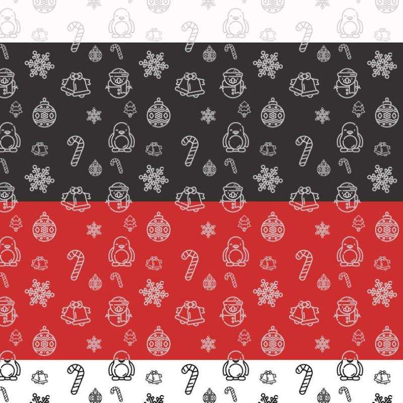 Photoshop patterns Christmas, pattern