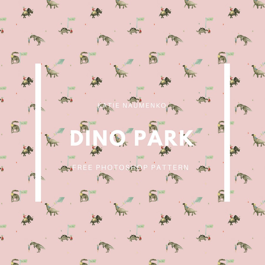 Photoshop patterns dinosaurs, pattern