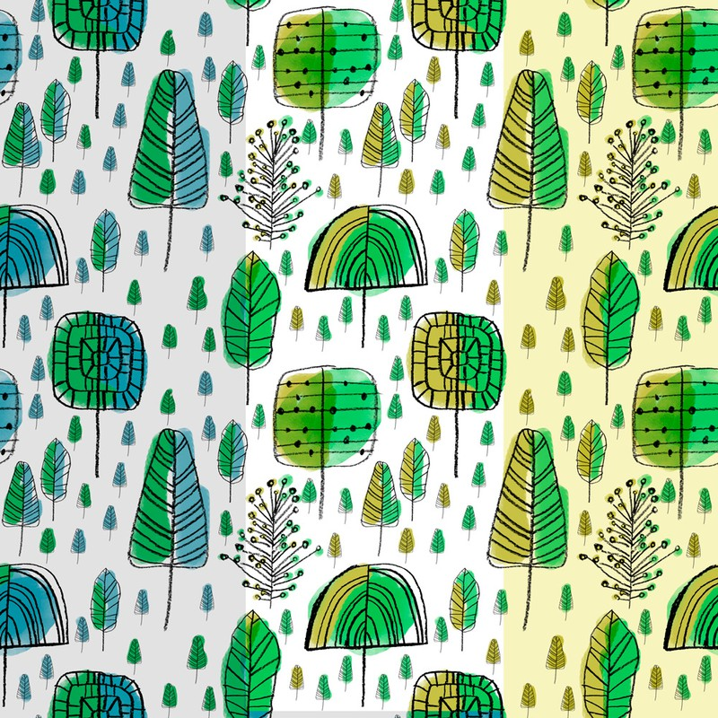Photoshop patterns doodle, pattern, forest