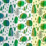 Doodle Forest Patterns