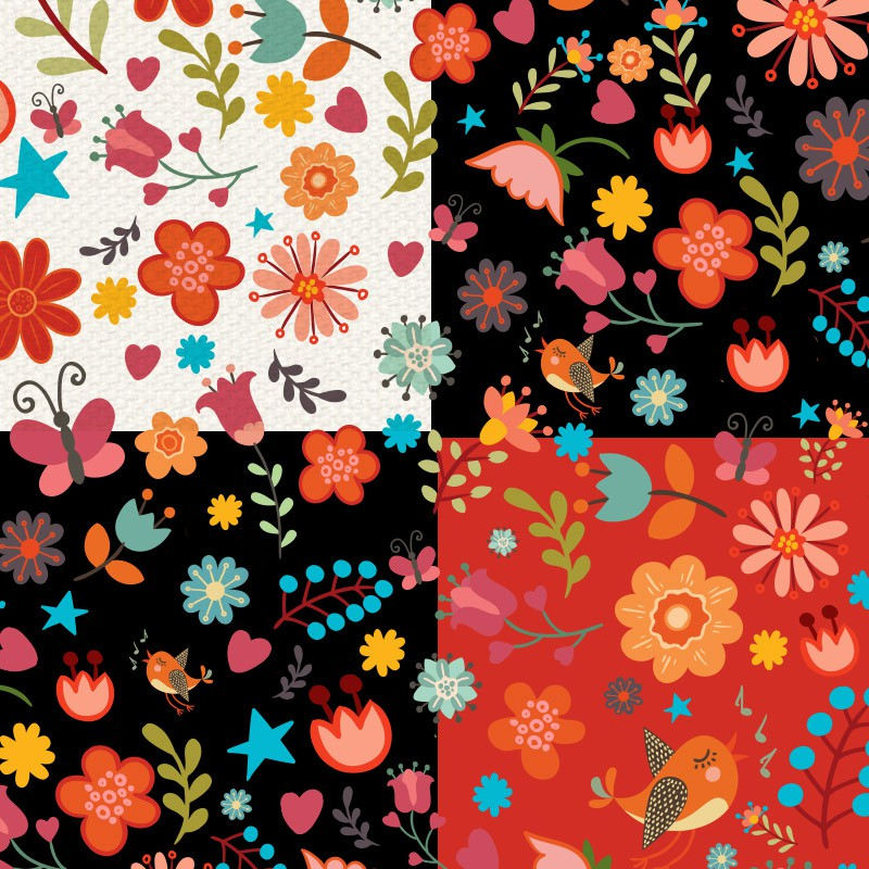 Photoshop patterns flower, pattern