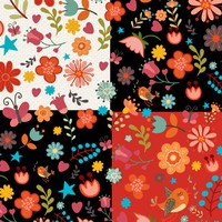 Colorful Sweet Floral Pattern