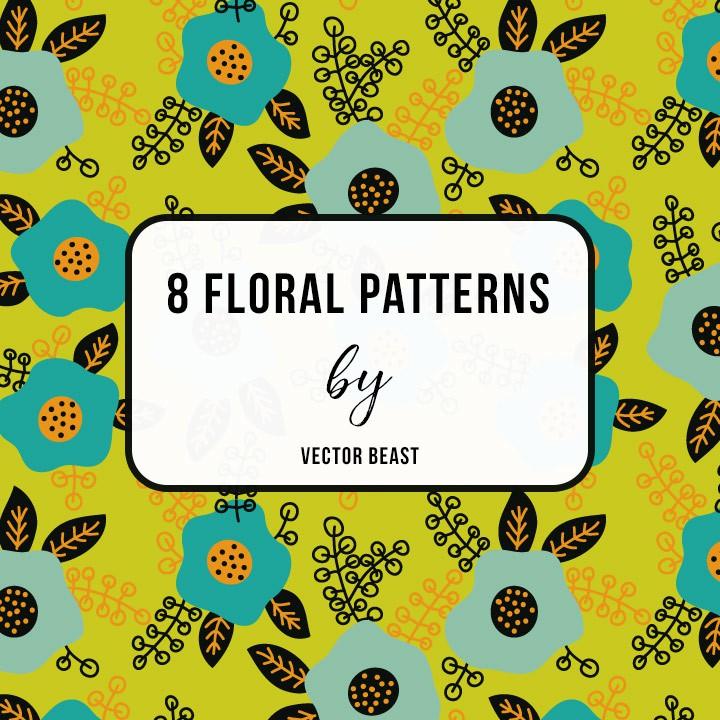 Photoshop patterns floral, flowers, pattern