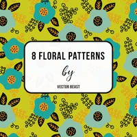 8 Free Floral Patterns