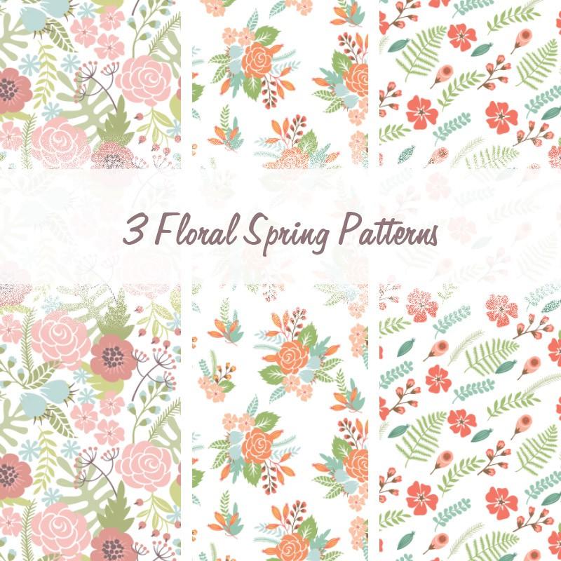 Photoshop patterns blossom, seamless, pattern
