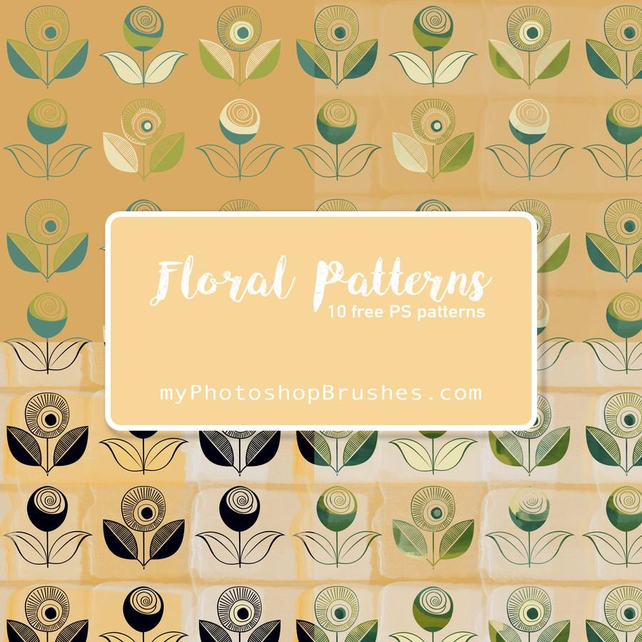 Photoshop patterns floral, pattern