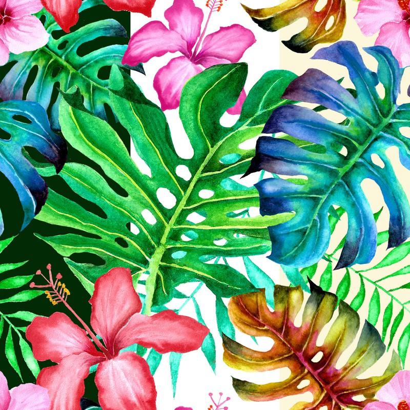 Photoshop patterns flowers, leaves, botany