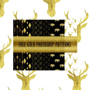 8 Gold Patterns