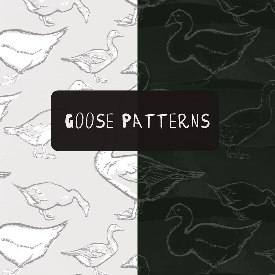 Photoshop patterns goose, pattern