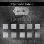 10 Seamless Metal Patterns