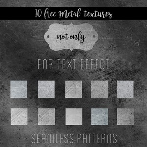 10 Seamless Metal Patterns