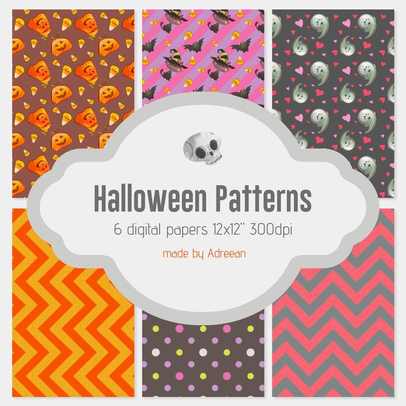 Photoshop patterns Halloween, pattern