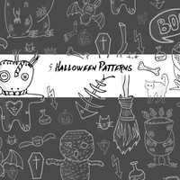 5 Halloween Patterns