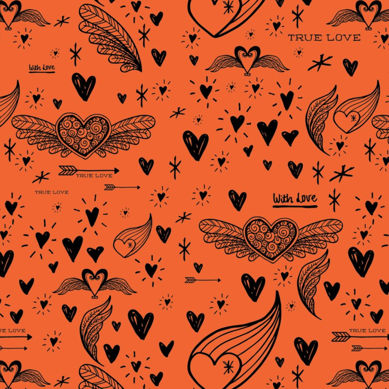 Photoshop patterns heart, love, valentines, pattern