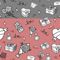 8 Valentines Day Pattern