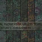 13 Metal Flowers Pattens