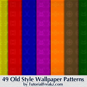 49 Old Style Wallpaper Patterns