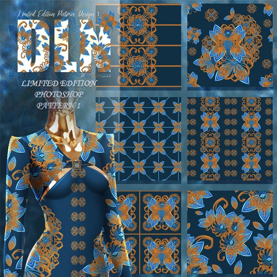 Photoshop patterns pattern, embroidery, decorative