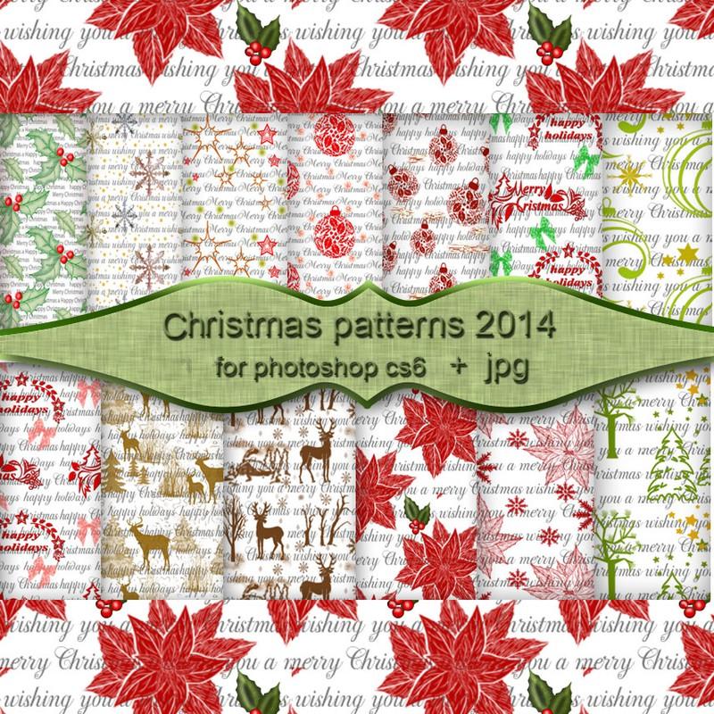 Photoshop patterns christmas,pattern