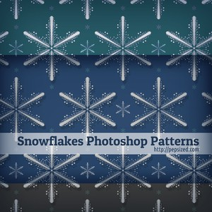 Snowflakes Photoshop Patterns