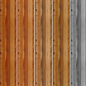 5 Seamless Wood Patterns