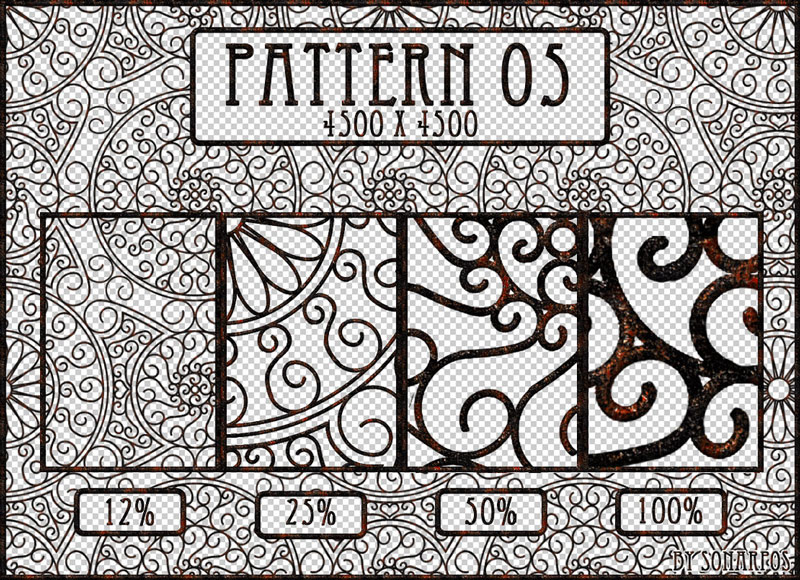 patterns palette