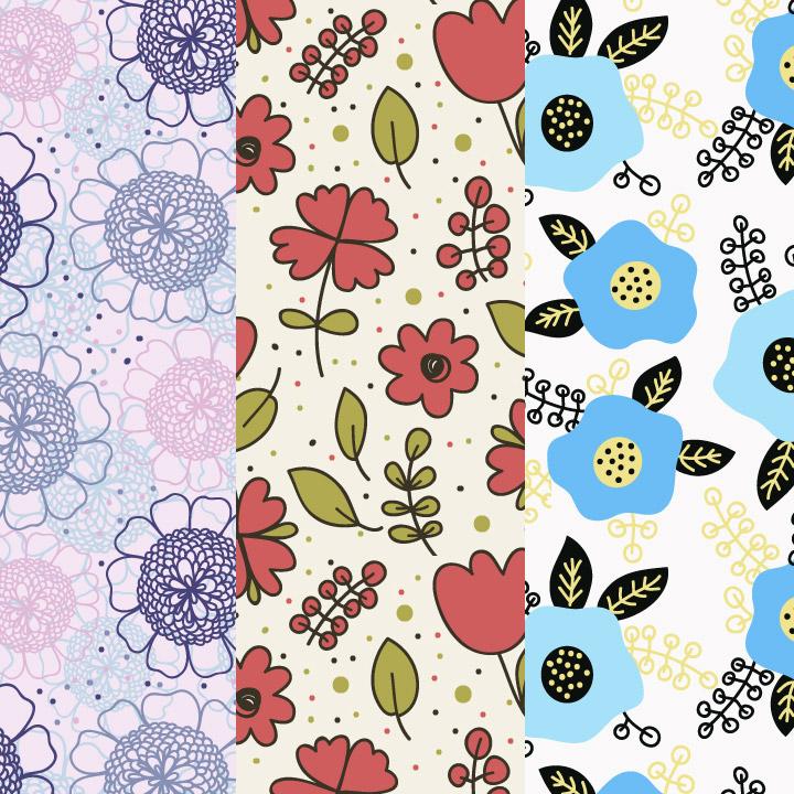 patterns palette