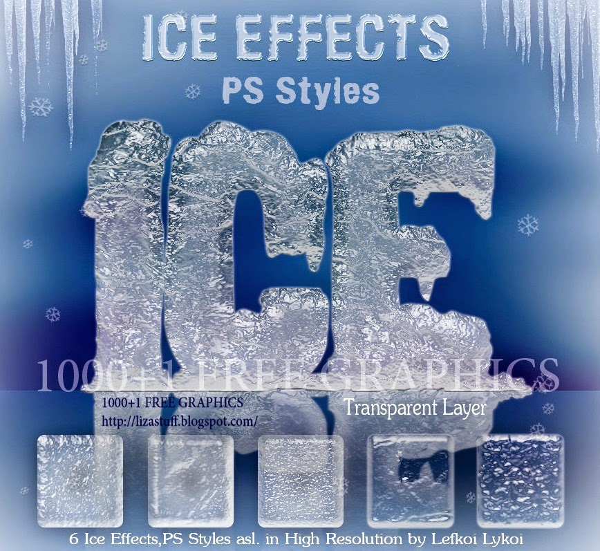 Ice Effect Photoshop Styles Photoshop Styles And Gradients