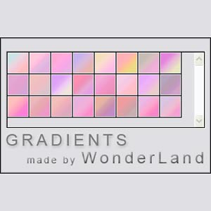 Photoshop styles and gradients gradient, pink