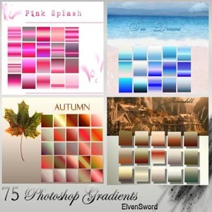 Photoshop styles and gradients