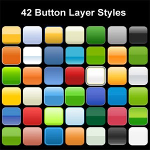 Button Design Photoshop Layer Styles