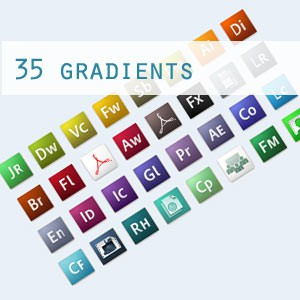 Photoshop styles and gradients gradient