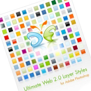 Ultimate Web 2.0 Layer Styles