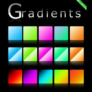 Photoshop styles and gradients gradients