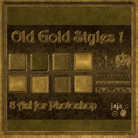 Old Gold Photoshop Styles 1